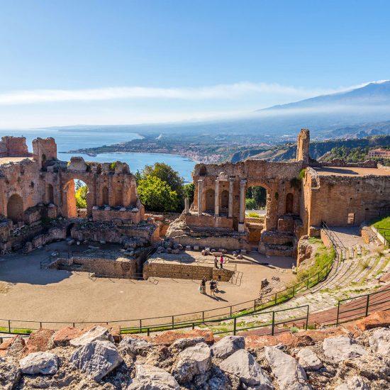 Capodanno in Sicilia Le perle dello stretto e la Val di Noto